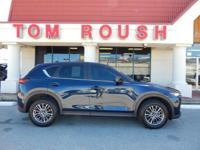 Deep Crystal Blue Mica 2017 Mazda CX-5 Touring AWD