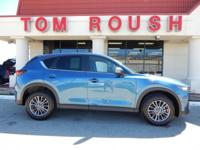 Eternal Blue Mica 2017 Mazda CX-5 Touring AWD 6-Speed