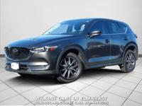 Certified. 2017 Mazda CX-5 Machine Gray Metallic Grand