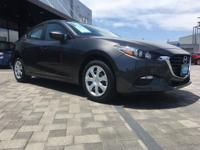 This 2017 Mazda Mazda3 4-Door Sport is offered to you