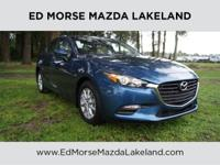 This Certified Pre-Owned 2017 Mazda3 4-Door Sport is