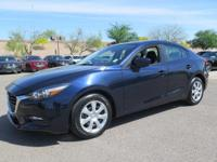 Options:  2017 Mazda Mazda3 Sport|Blue|New Price! Clean