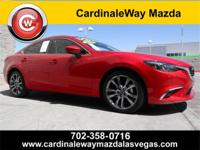 Clean CARFAX. Soul Red Metallic 2017 Mazda Mazda6 Grand