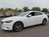 Options:  2017 Mazda Mazda6 Grand Touring|White|New