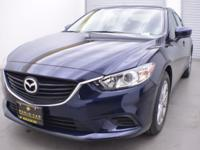 Mazda6 Sport trim. FUEL EFFICIENT 35 MPG Hwy/26 MPG
