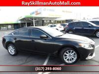 ONLY 1,801 Miles! EPA 35 MPG Hwy/26 MPG City! Mazda6