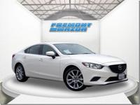 Options:  2017 Mazda Mazda6 Touring|White|2.5L 4