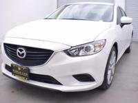 EPA 35 MPG Hwy/26 MPG City! Mazda6 Touring trim. Dual
