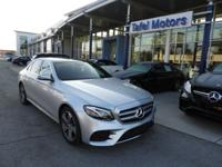 Clean CARFAX. Iridium Silver 2017 Mercedes-Benz E-Class
