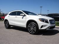 CARFAX One-Owner. White 2017 Mercedes-Benz GLA GLA 250