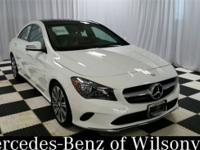 CARFAX One-Owner. White 2017 Mercedes-Benz CLA CLA 250