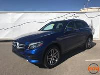 New Price! 2017 Certified. Blue Mercedes-Benz GLC GLC