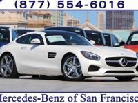 White 2017 Mercedes-Benz AMG® GT RWD 7-Speed