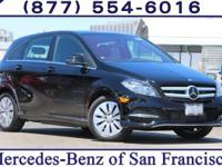 Black 2017 Mercedes-Benz B-Class B250e FWD Single-Speed