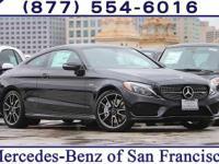 Black 2017 Mercedes-Benz C-Class C63 S AMG®