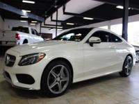 CHECK OUT THIS 2017 MERCEDES C300 COUPE 4MATIC LOADED
