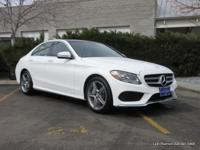 C 300 Sport 4MATIC trim. Keyless Start, Dual Zone A/C,