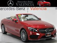 Red 2017 Mercedes-Benz C-Class C 300 2D Convertible RWD