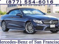 Blue Metallic 2017 Mercedes-Benz C-Class C300 RWD