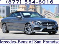 Grey 2017 Mercedes-Benz C-Class C300 RWD 9-Speed