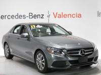 CARFAX One-Owner. Grey 2017 Mercedes-Benz C-Class C 300