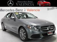 Grey 2017 Mercedes-Benz C-Class C 300 4D Sedan RWD