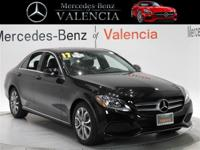 Black 2017 Mercedes-Benz C-Class C 300 4D Sedan RWD