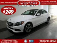 This Lovely White 2017 Mercedes-Benz C300 Sedan Comes