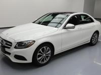This awesome 2017 Mercedes-Benz C-Class comes loaded