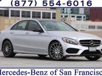 Silver 2017 Mercedes-Benz C-Class C300 RWD 7G-TRONIC