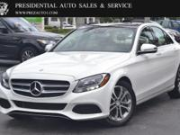 This 2017 Mercedes-Benz C-Class 4dr C 300 Sedan