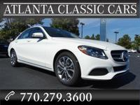 Options:  2017 Mercedes C-Class C300|Don't Miss This
