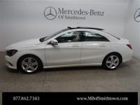 Clean CARFAX. White 2017 Mercedes-Benz CLA CLA250