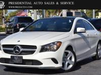 This 2017 Mercedes-Benz CLA 4dr CLA 250 Coupe features