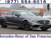 Grey 2017 Mercedes-Benz CLS 63 AMG® S