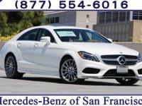 White 2017 Mercedes-Benz CLS 550 RWD 9-Speed Automatic