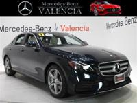Green 2017 Mercedes-Benz E-Class E 300 4D Sedan RWD