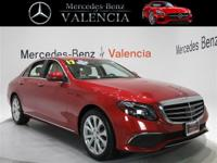 Clean CARFAX. Cardinal Red 2017 Mercedes-Benz E-Class E