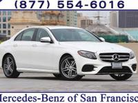White 2017 Mercedes-Benz E-Class RWD 9-Speed Automatic
