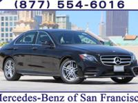 Black 2017 Mercedes-Benz E-Class E300 RWD 9-Speed