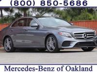 2017 Mercedes-Benz E-Class E300 30/22 Highway/City MPG