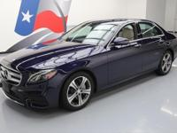 2017 Mercedes-Benz E-Class with Premium 1 Package,2.0L