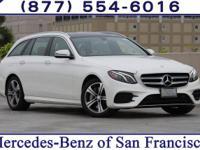 White 2017 Mercedes-Benz E-Class 4MATIC®