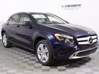 VERY LOW MILES. 2017 GLA250 4MATIC. LUNAR BLUE WITH