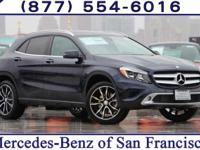 2017 Mercedes-Benz GLA 250 31/23 Highway/City MPG