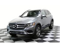 CERTIFIED 2017 Mercedes-Benz GLC300 4Matic AWD SUV with