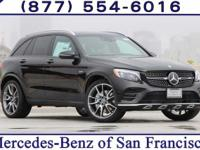 Black 2017 Mercedes-Benz GLC AMG GLC 43