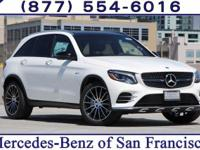 Polar White 2017 Mercedes-Benz GLC AMG GLC 43
