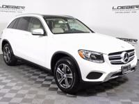 Clean CARFAX. 2017 Mercedes-Benz GLC GLC300 4MATIC