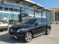 This outstanding example of a 2017 Mercedes-Benz GLE